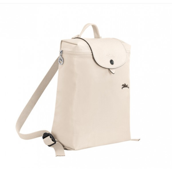 Chalk Longchamp Le Pliage Club Backpack with Pliage/Nylon Material cheap