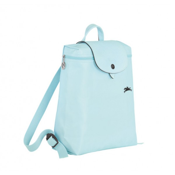 Cloud Blue Longchamp Le Pliage Club Backpack with Pliage/Nylon Material  outlet