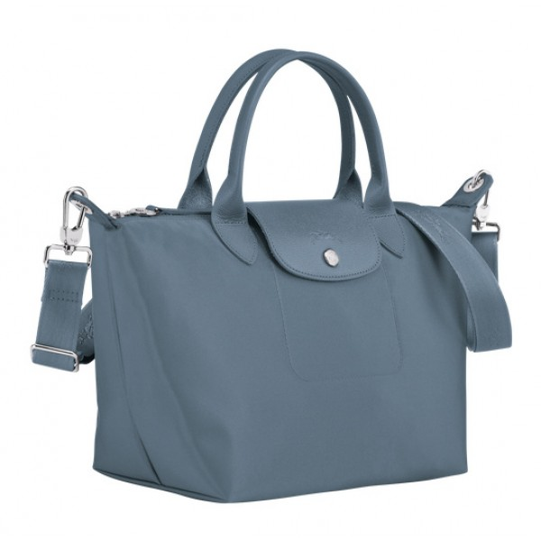 Nordic cheap Longchamp Le Pliage Néo Top Handle Bag with Canvas Material