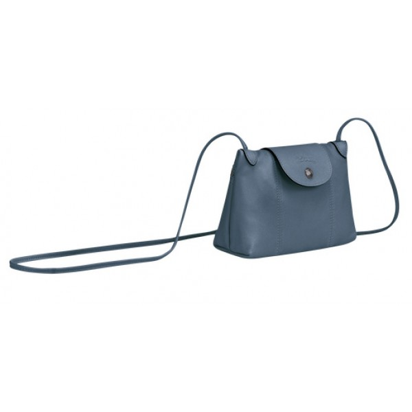 Nordic outlet Longchamp Le Pliage Cuir Crossbody Bag with Leather Material