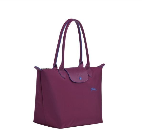 Plum cheap Longchamp Le Pliage Club Shoulder Bag S with Pliage/Nylon  Material