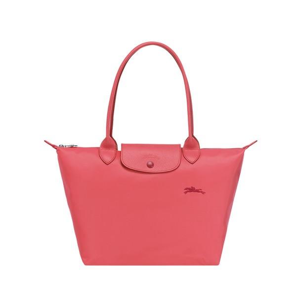 Pomegranate Outlet Longchamp Le Pliage Club Shoulder Bag S with  Pliage/Nylon Material